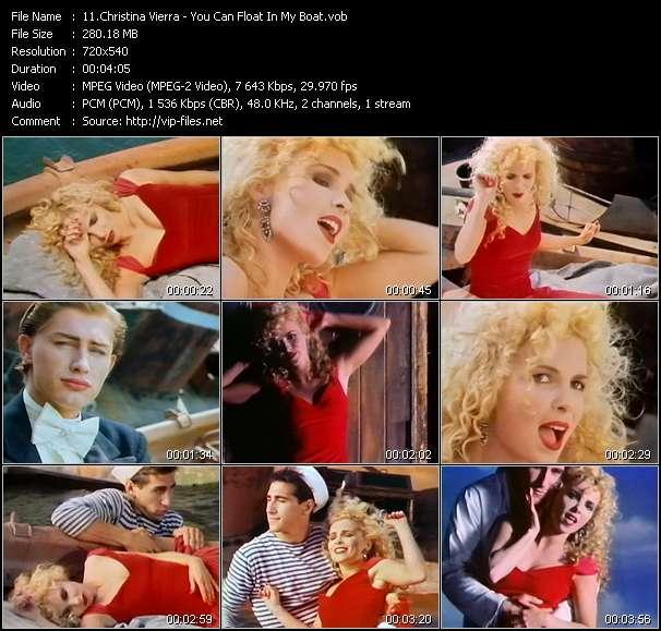 Christina Vierra video screenshot