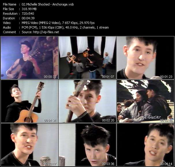 Michelle Shocked video screenshot