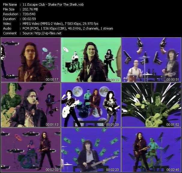 Escape Club video screenshot