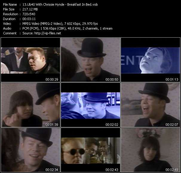 Ub40 With Chrissie Hynde video screenshot