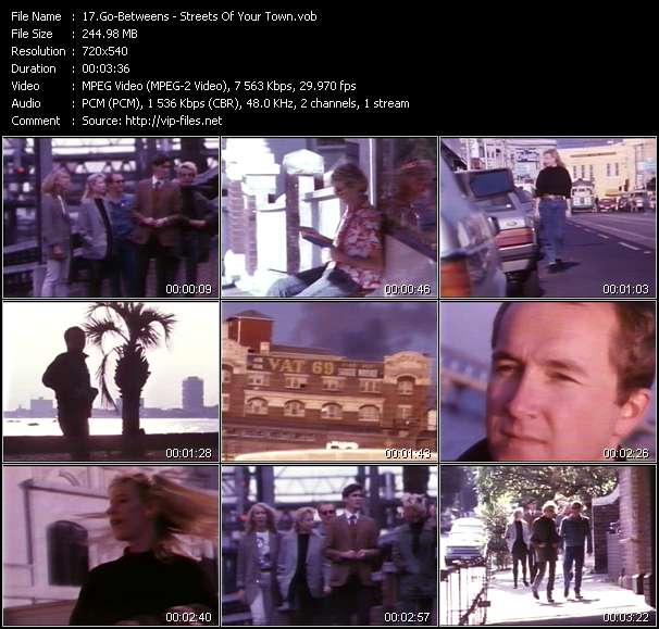 Go-Betweens video screenshot