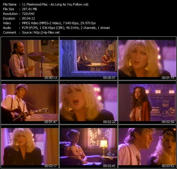 Fleetwood Mac video screenshot