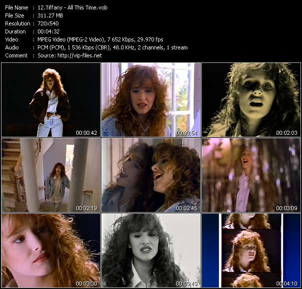 Tiffany video screenshot