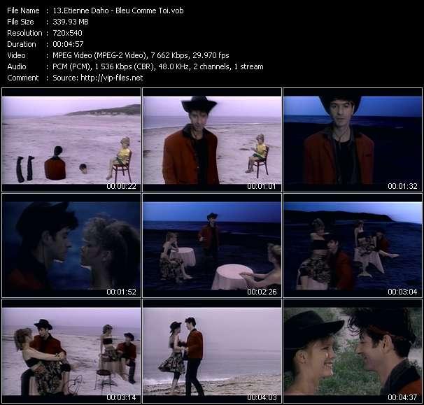 Etienne Daho video screenshot