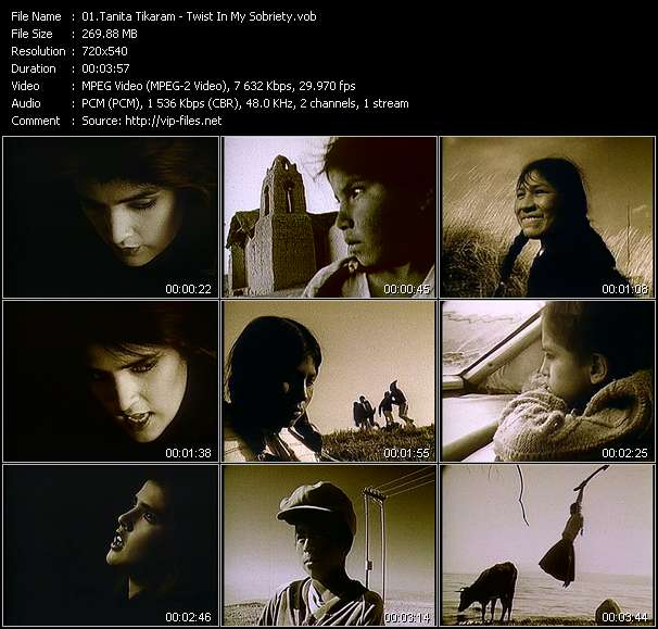 Tanita Tikaram video screenshot