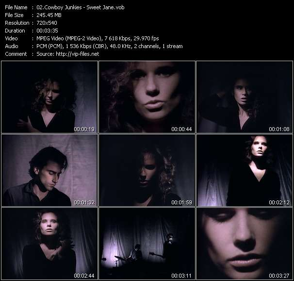 Cowboy Junkies video screenshot