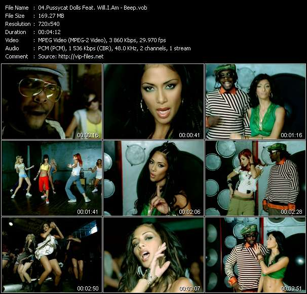 Pussycat Dolls Feat. Will.I.Am video screenshot