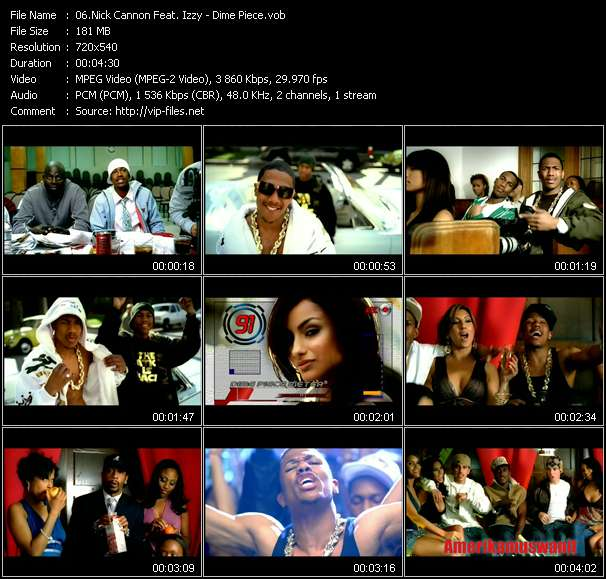 Nick Cannon Feat. Izzy video screenshot