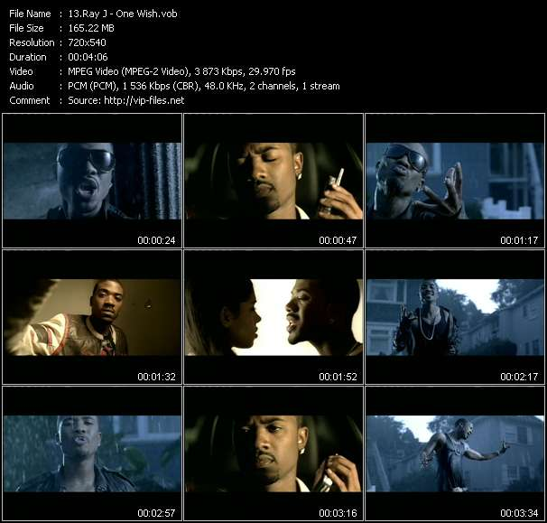Ray J video screenshot