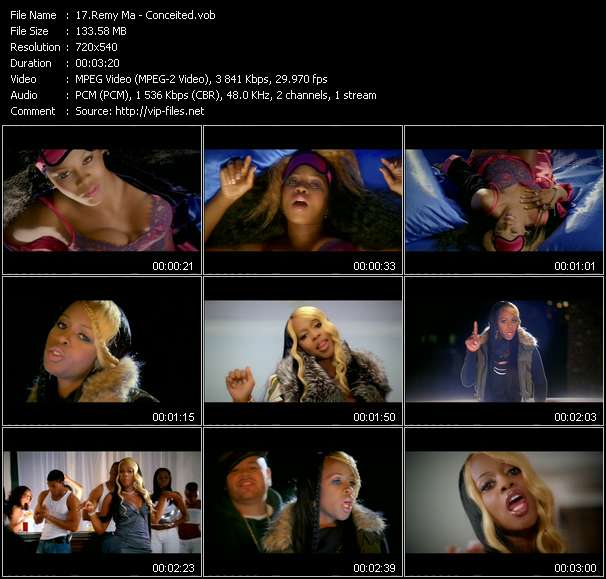 Remy Ma video screenshot