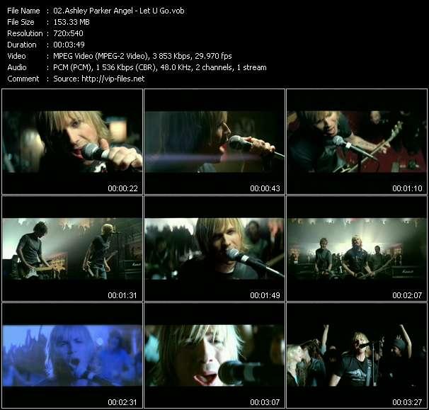 Ashley Parker Angel video screenshot
