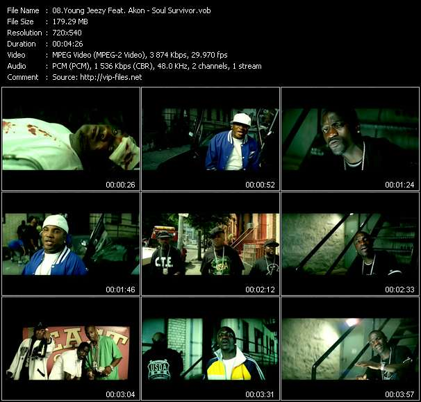 Young Jeezy Feat. Akon video screenshot