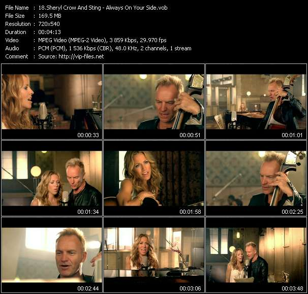 Sheryl Crow And Sting video screenshot