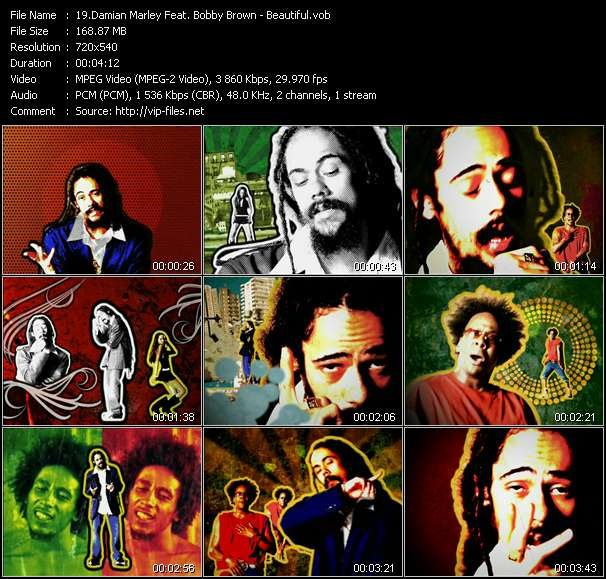 Damian Marley Feat. Bobby Brown video screenshot