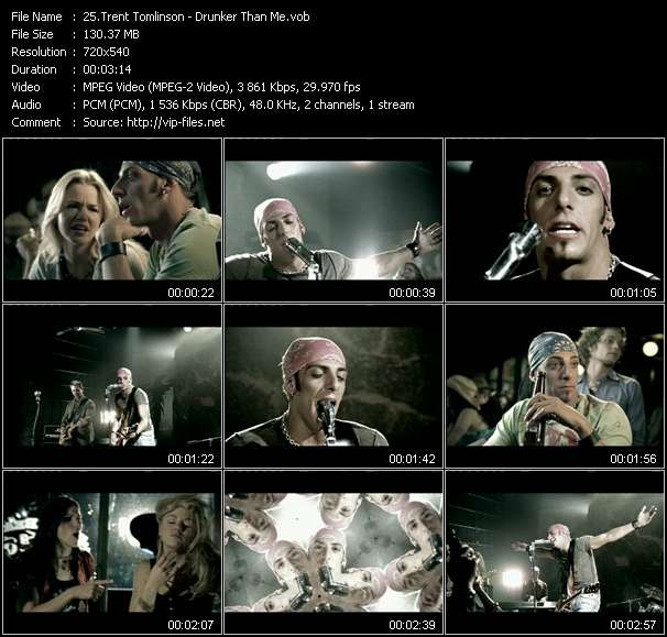 Trent Tomlinson video screenshot