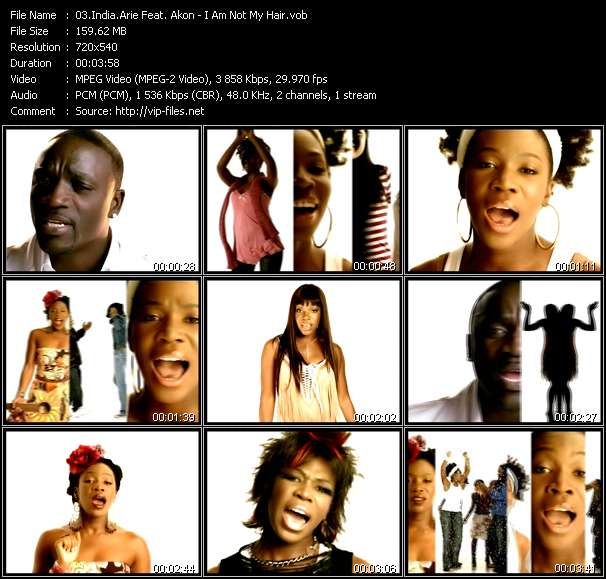 India.Arie Feat. Akon video screenshot