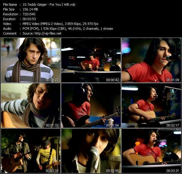 Teddy Geiger video screenshot