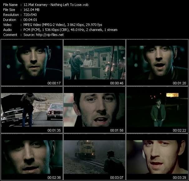 Mat Kearney video screenshot