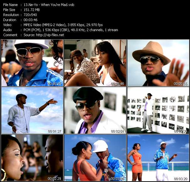 Ne-Yo video screenshot