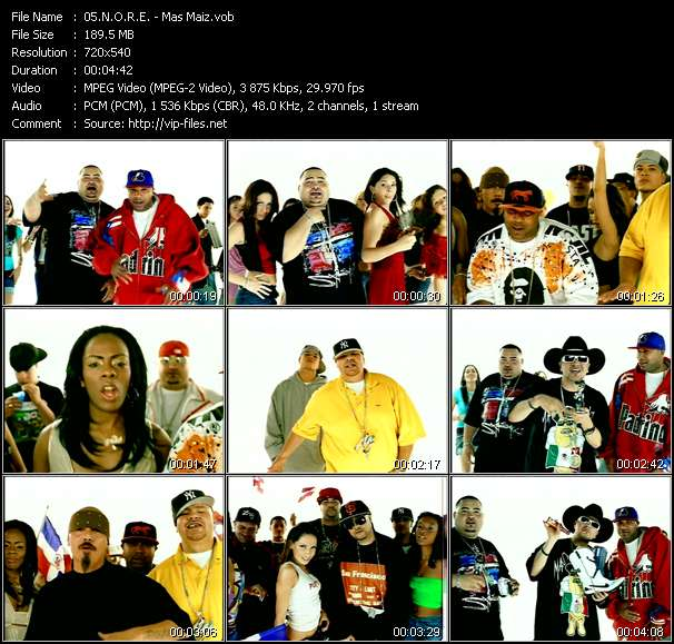 N.O.R.E. Feat. Fat Joe, Big Mato, Nina Sky, Chingo Bling, Lil' Rob, Negra And Lumidee video screenshot