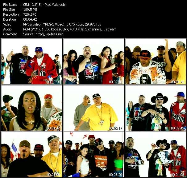 N.O.R.E. Feat. Fat Joe, Big Mato, Nina Sky, Chingo Bling, Lil' Rob, Negra And Lumidee video screenshot