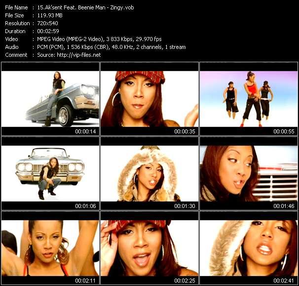 Ak'sent Feat. Beenie Man video screenshot