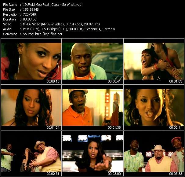 Field Mob Feat. Ciara video screenshot