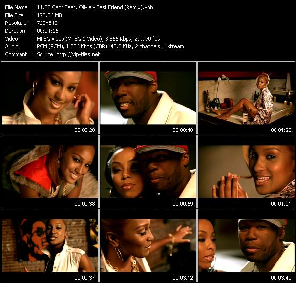 50 Cent Feat. Olivia video screenshot