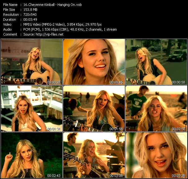 Cheyenne Kimball video screenshot