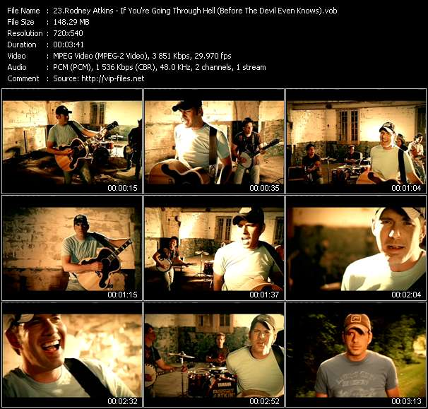 Rodney Atkins video screenshot