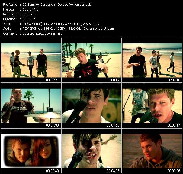 Summer Obsession video screenshot