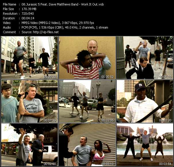 Jurassic 5 Feat. Dave Matthews Band video screenshot