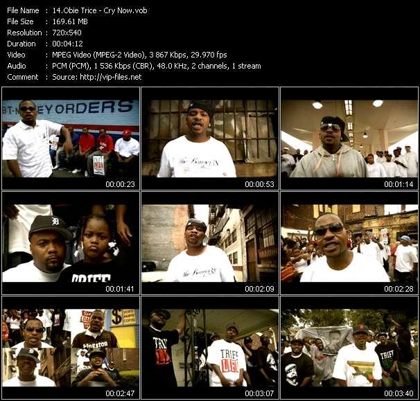 Obie Trice video screenshot