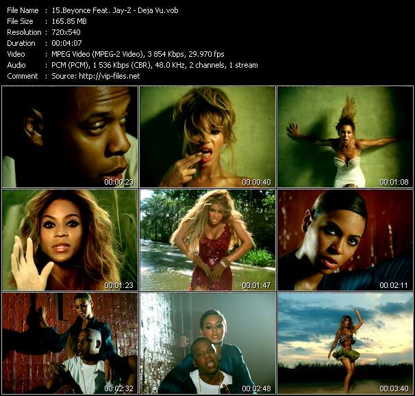 Beyonce Feat. Jay-Z video screenshot