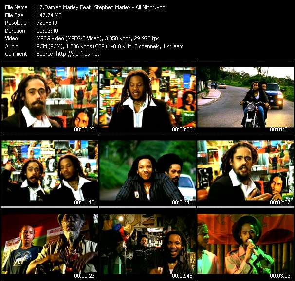 Damian Marley Feat. Stephen Marley video screenshot