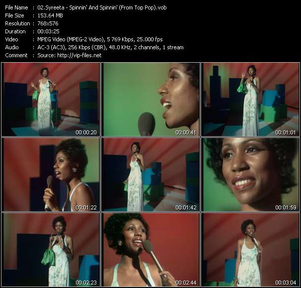 Syreeta video screenshot
