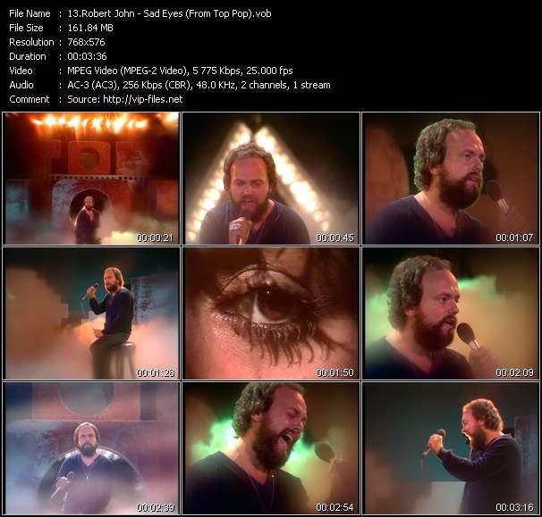 Robert John video screenshot