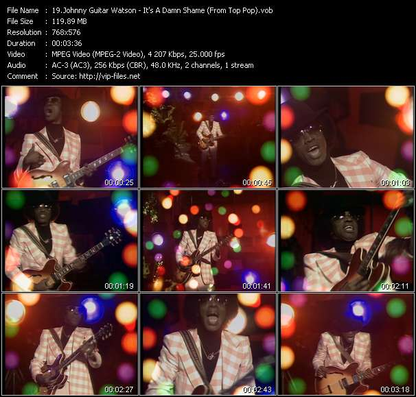 Johnny Guitar Watson video screenshot