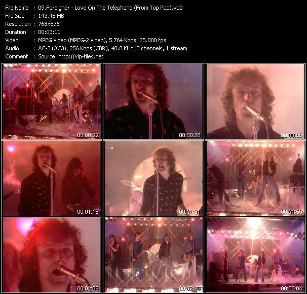 Foreigner video screenshot