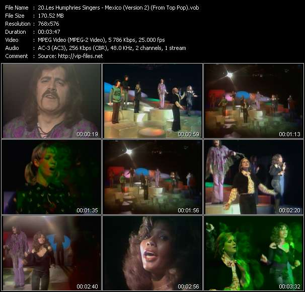 Les Humphries Singers video screenshot