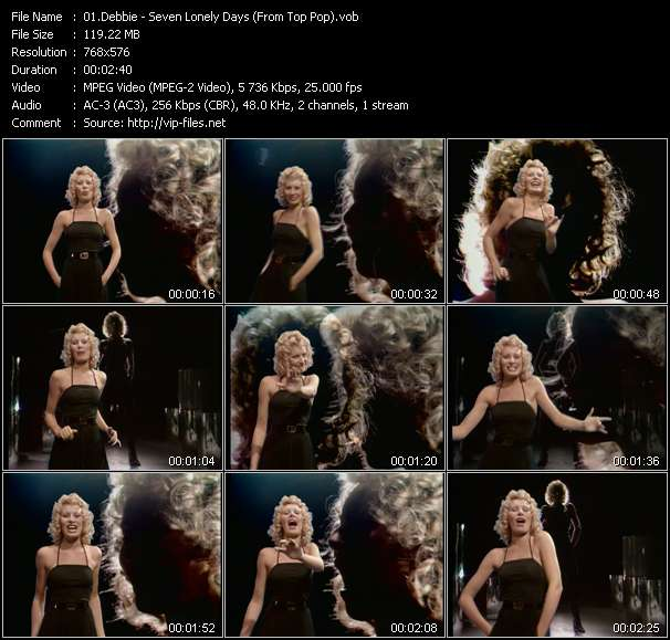 Debbie video screenshot