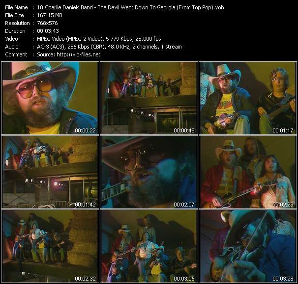 Charlie Daniels Band video screenshot