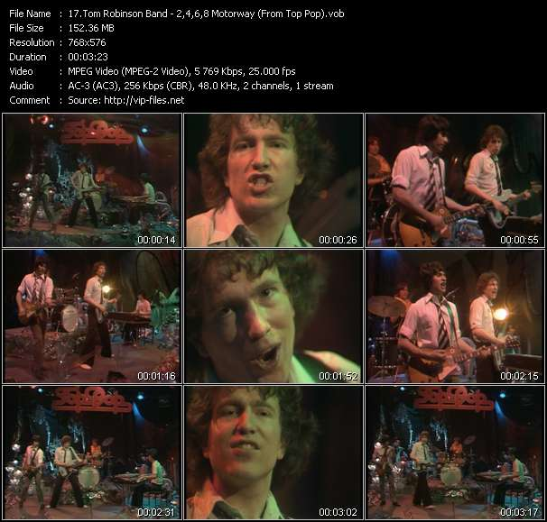 Tom Robinson Band video screenshot