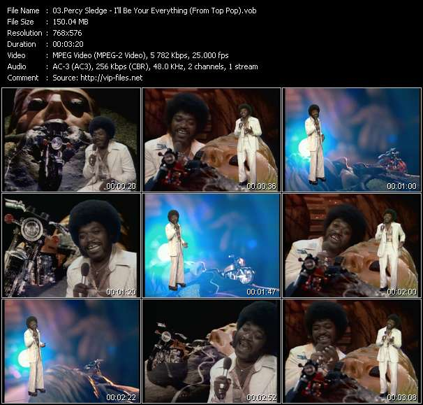 Percy Sledge video screenshot
