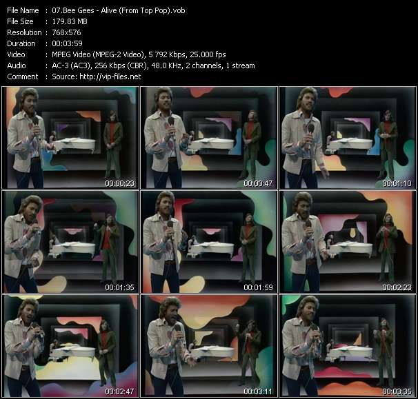 Bee Gees video screenshot