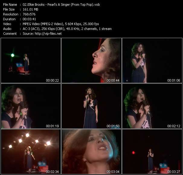 Elkie Brooks video screenshot