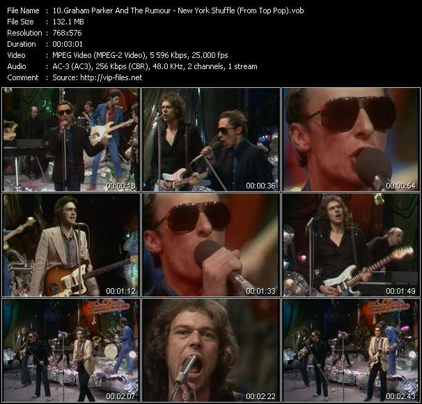 Graham Parker And The Rumour video screenshot