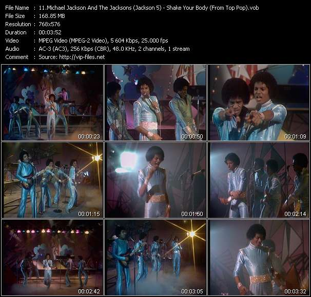 Michael Jackson And The Jacksons (Jackson 5) video screenshot