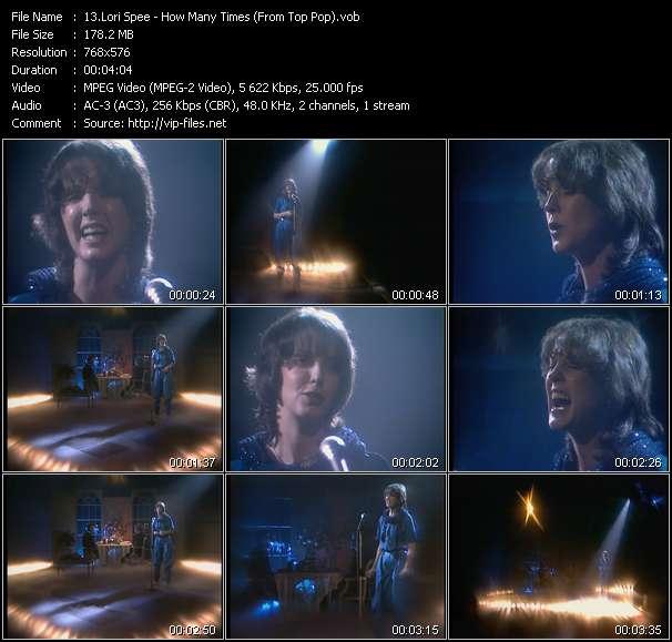Lori Spee video screenshot