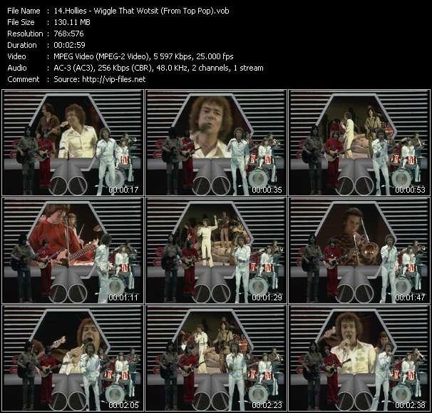 Hollies video screenshot